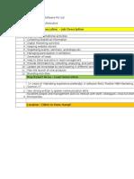 Jd - Marketing Executive (LIST)
