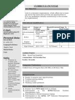 Sandeep Updated CV - Copy