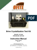 Manual Kit de Cristalizacion Ofite