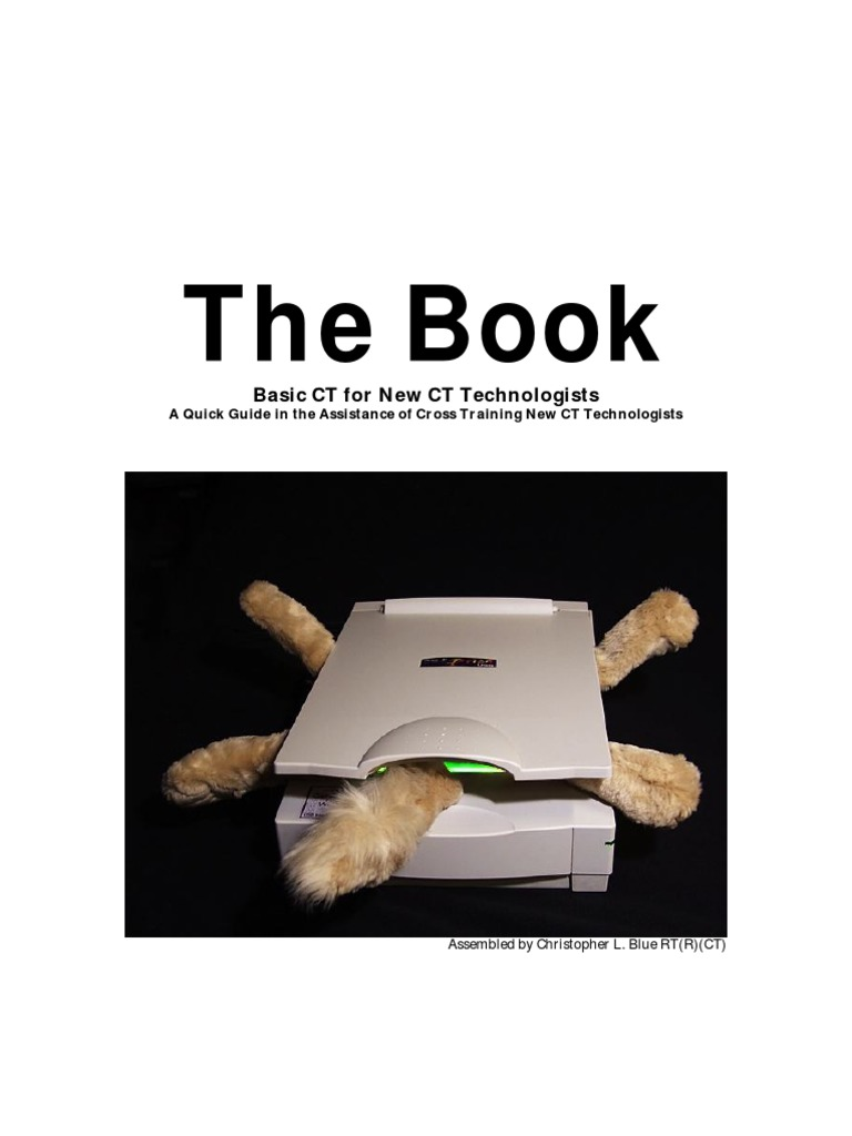 The Book | Ct Scan | Image Scanner