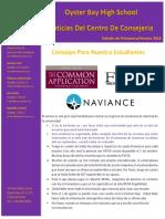 spanish newsletter-spring2016