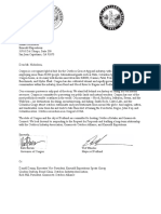 Outdoor Retailer letter from Gov. Kate Brown and Mayor Ted Wheeler