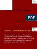 Chemical Equations