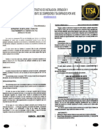 Instructivo de Instalación, Operación y Mantenimiento Compresores Mca.itsa