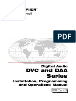 52411 Dvc-DAA Inspection test operation Manual