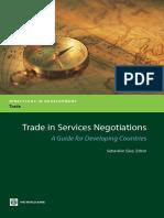 Trade in Services Negotiations
