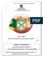 Manual Do Candidato - CMM2016