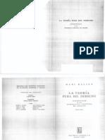 Kelsen, Hans - La Teoria Pura del Derecho.pdf