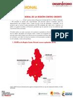 Colombia Boletin Coyuntura  Centro Oriente