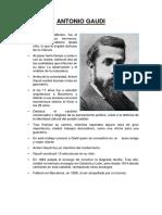 Antonio Gaudi - Seminario