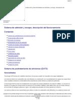 Sistema de Admisión y Escape, Descripción Del Funcionamiento.pdf