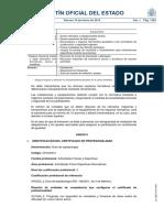 Certificado Espeleología SEPE