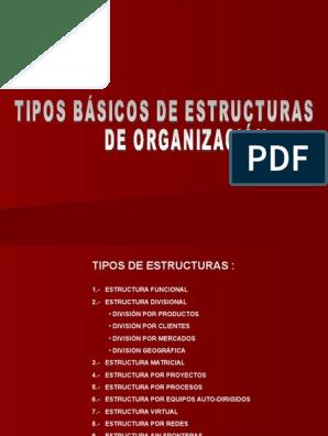 Estructuras Ppt Calidad Negocios Mercado Economía