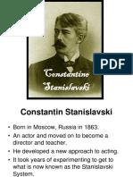 Constantin Stanislavski Slides