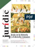JESÚS EN LA HISTORIA Y EL DERECHO ROMANO