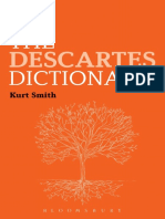 (Bloomsbury Philosophy Dictionaries) Kurt Smith-The Descartes Dictionary-Bloomsbury Academic (2015).pdf