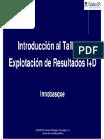 Introducción de Davalor a Taller Innobasque