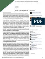 """""""La Vanguardia No Se Rinde""""_ Guy Debord y El Situacionismo"""