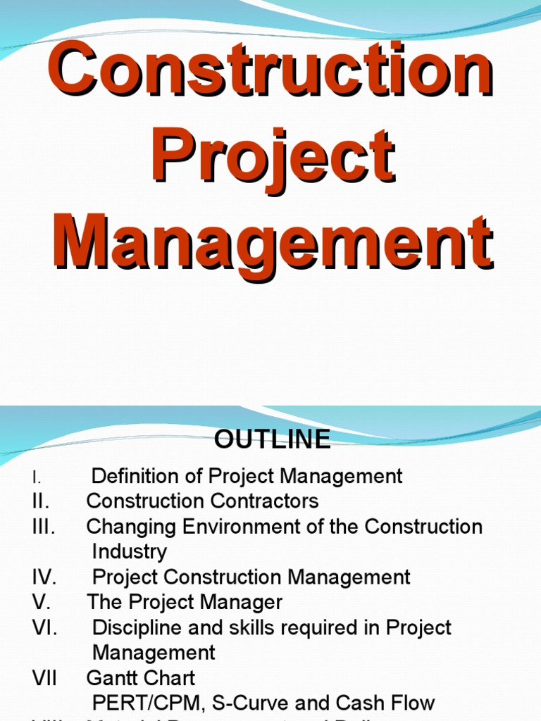 Construction project managementppt project management project construction project managementppt project management project manager geenschuldenfo Images