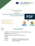 Corsi Pnsd 1E/F Competenze Digitali MdS