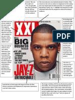 magazine analysis finished