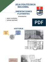 CIMENTACIONES FLOTANTES `presentacion