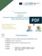 Corsi pnsd 1E/F Imprenditorialità lavoro MdS