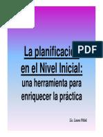 2016-La Planificacion en El Nivel Inicial
