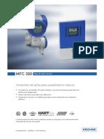 Convertidor Para Caudalimetros Masicos-mfc 300