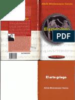 El Arte Griego Mexico CONACULTA DGP 2000 Alicia Montemayor
