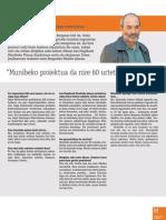Ramon Aranzabal TU-Lankide aldizkarian 2010
