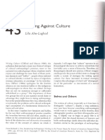Abu-Lughod, Lila - writing against culture.pdf