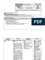 Programa Detallado Tratamiento de Gas