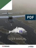 XPrecipitFX Manual