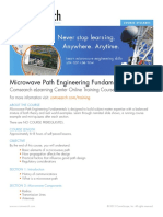 Microwave Path Engineering Fundamentals Syllabus