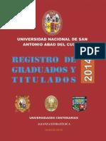 graduados UNSAAC 2014