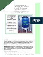 Projeto Experimental de Capta Agua