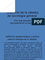 Prespuestos Epistemologicos y Objetivos de La Catedra