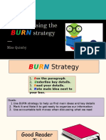 reading lesson-burn strategy