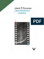 161025040 Feynman Richard Electrodinamica Cuantica