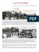 Lễ Tế Đàn Nam Giao Của Các Vua Triều Nguyễn