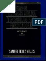 Perez Millos Samuel - Exegesis y Bosquejos Romanos