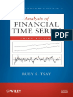 Analysis of Financial Time Series, Ruey S. Tsay (2010)