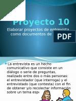 Proyecto 10 La Entrevista