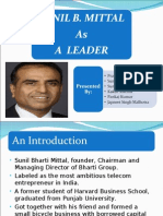 Sunil Mittal Success