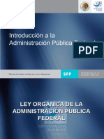 Introduccion a La Administracion Publica Federal