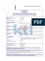 report 60335-2-14