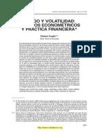 Robert Engle-Modelos de Volatilidad