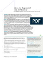 Trends in the Diagnosis Of