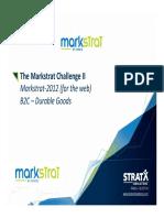 03 the Markstrat Challenge 2 (MSW SM B2C DG)